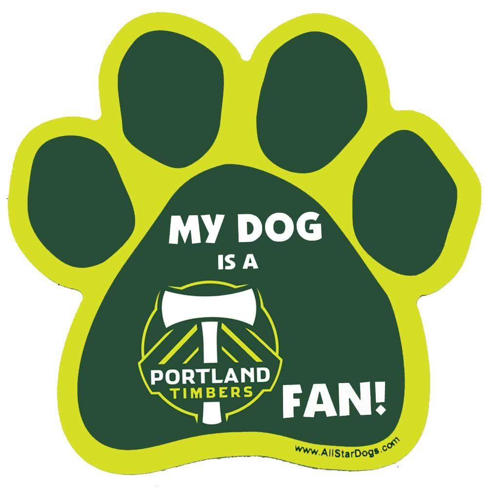 All Star Dogs MLS Unisex MLS Paw-Shaped Magnet