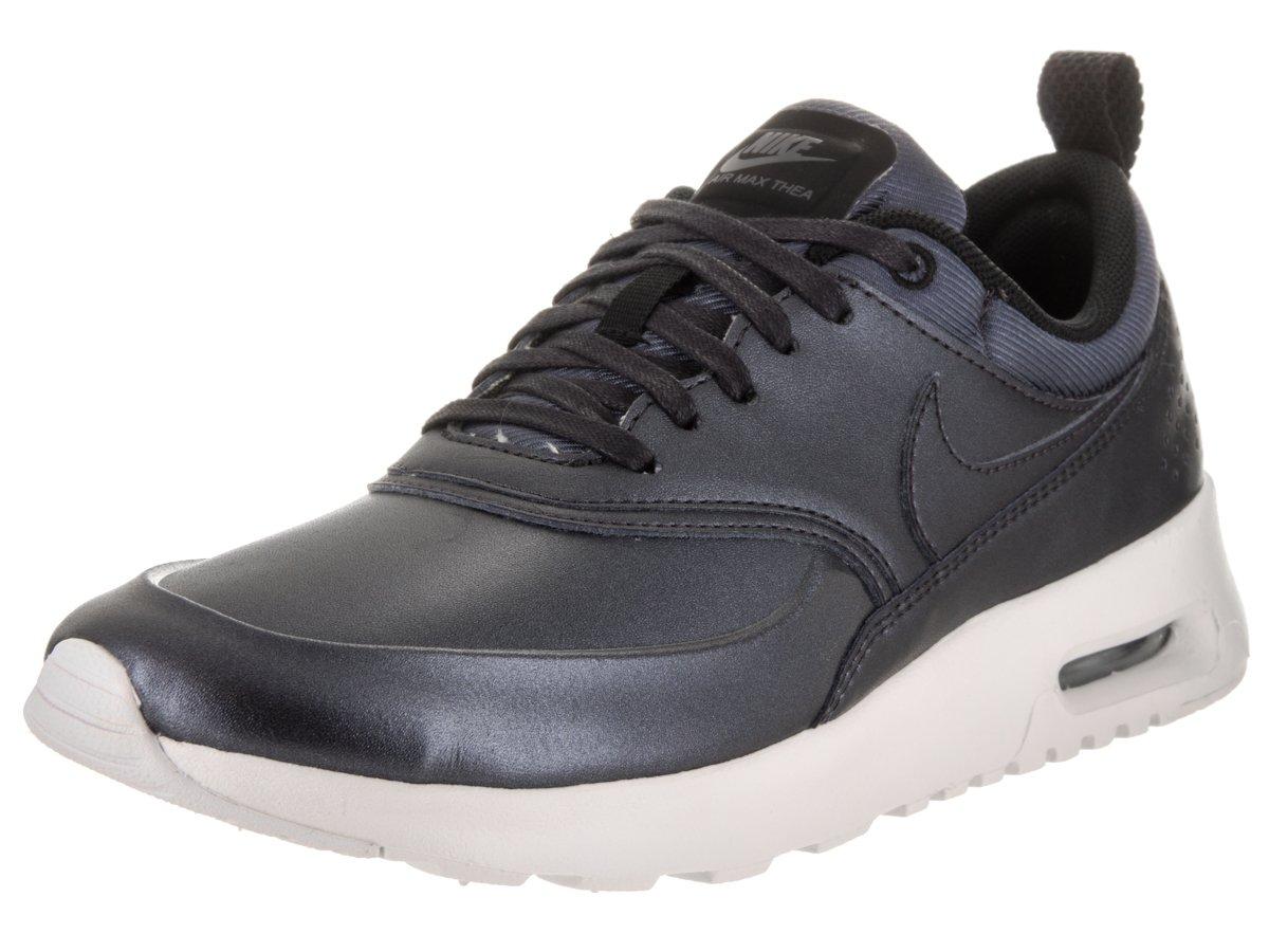 NIKE Women's Air Max Thea SE Running Shoe B004IMBKR8 7 B(M) US|Metallic Hematite / Metallic Hematite-white