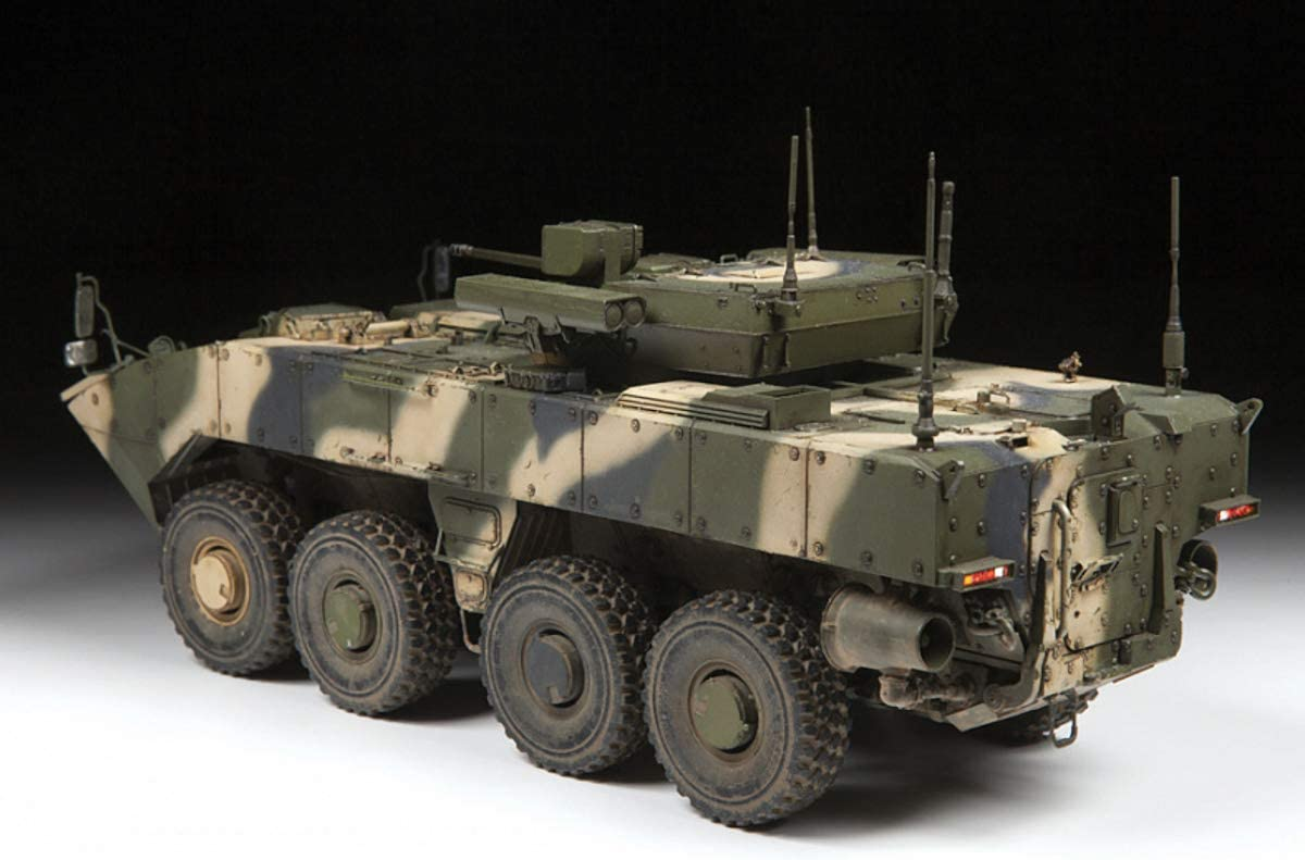 Zvezda 1//35 Russian Bumerang 8x8 Armored Personnel Carrier # 3696