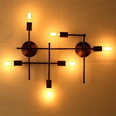Allée Chambre Fer À Repasser Balcon Bar Lampe Créative Industrielle Rétro Wall Lamp (Pas De Fournir Ce Produit Ampoule)
