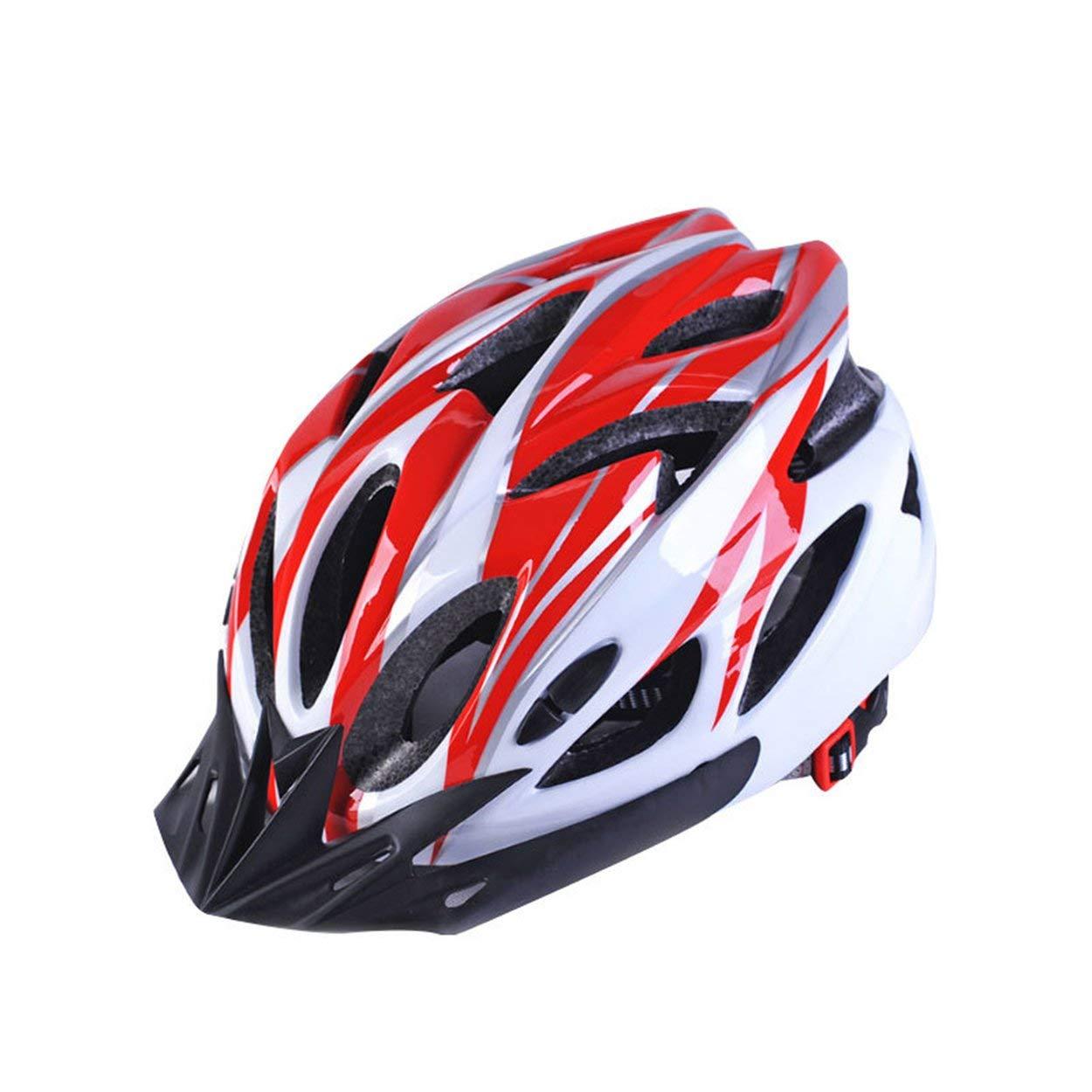 Lorenlli Casco de Bicicleta Casco de formaci/ón integrada Equipo de Bicicleta Sombrero de Seguridad Duradero Accesorios para Bicicletas de monta/ña