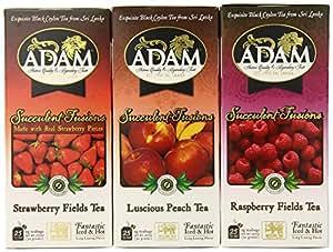 Adam Refreshing Fruit Iced Tea, Assortment, 1.67 Ounce