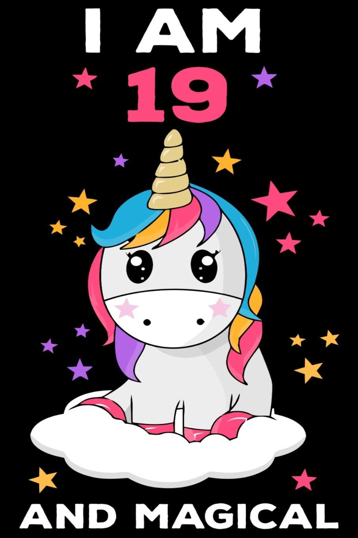 Amazon com: I am 19 and Magical: Cute Unicorn Journal and