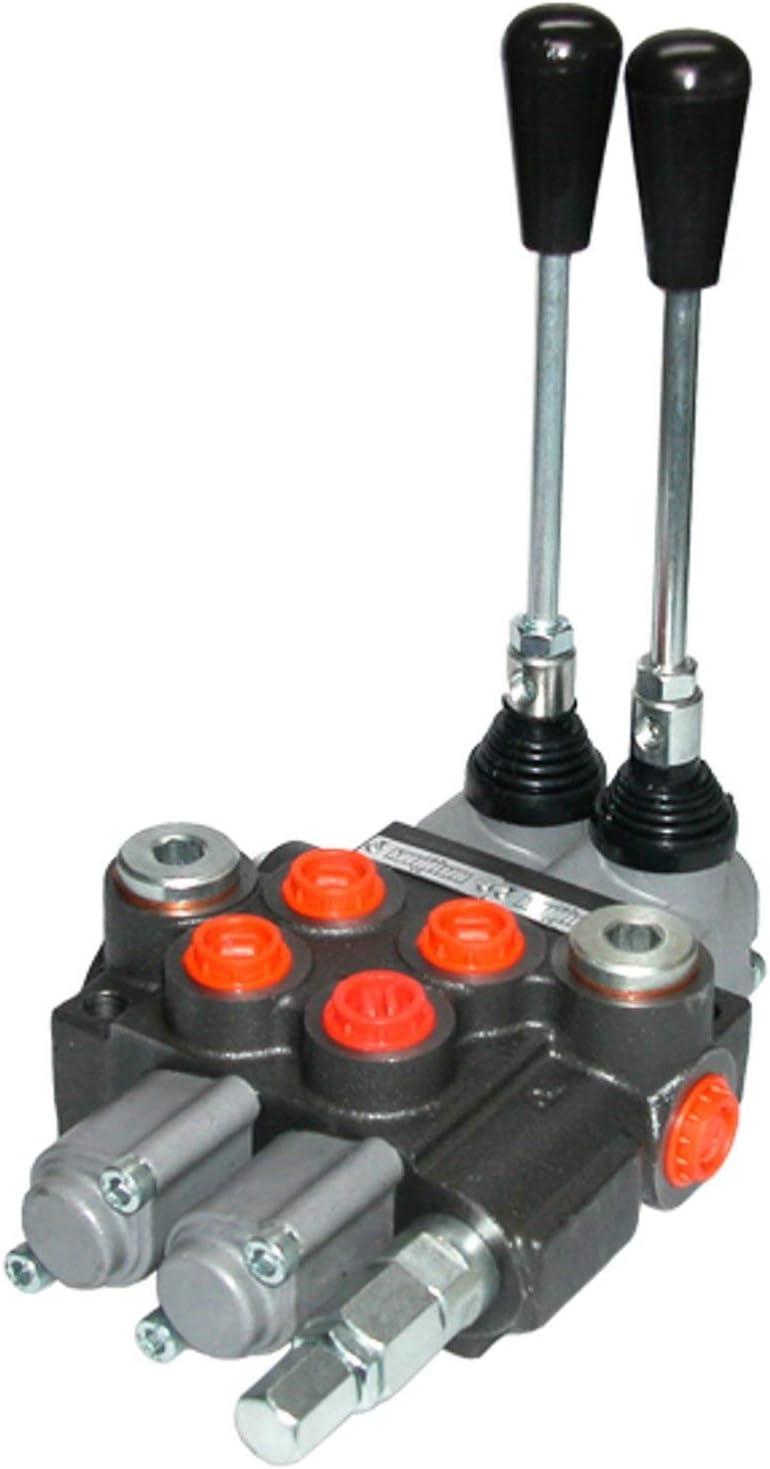 Hydraulik Hand Steuerventile 120 L f/ür 1 Hebel HS10