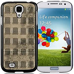 Popular And Unique Designed Case For Samsung Galaxy S4 I9500 i337 M919 i545 r970 l720 With Vintage Gold Theme Phone Case Cover