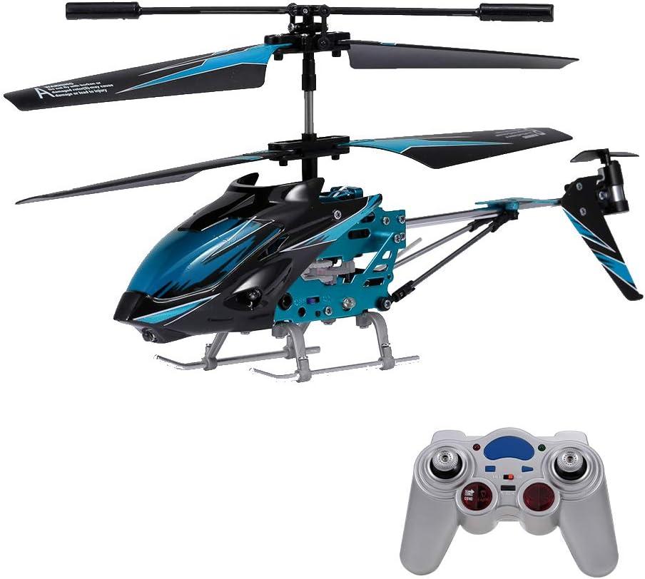 Goolsky Wltoys XK S929-A Helicóptero Radiocontrol RC Helicopter con Giroscopio 2.4G 3.5CH w / Light RC Toys Juguete para Principiantes Niños Regalos