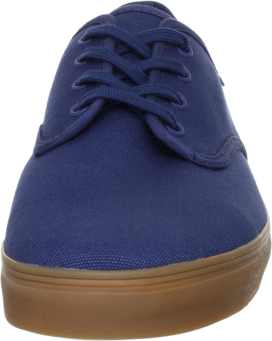 Vans Unisex Shoes Madero Dark Denim Gum Sneakers