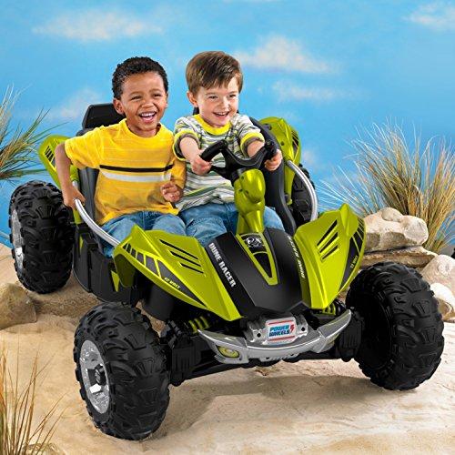 61Xybi1UVwL - Power Wheels Dune Racer, Green