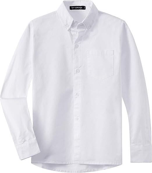 Spring&Gege - Camiseta de Manga Larga para niños (algodón, con ...