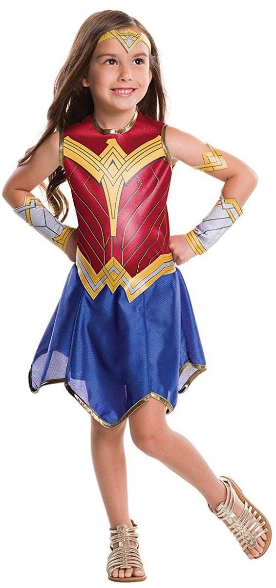 - 61XydkT8dpL - Rubie's Costume Wonder Woman Movie Value Costume, M