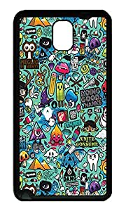 Note 3 Case, Galaxy Note 3 Case, [Perfect Fit] Soft TPU Crystal Clear [Scratch Resistant] Comics Bg Lovely Back Case Cover for Samsung Galaxy Note 3 N9000 Cases