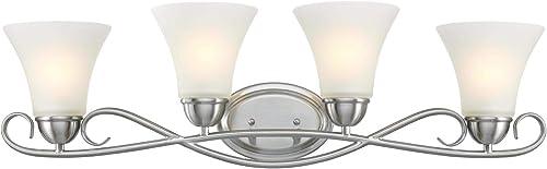 Westinghouse Lighting 6573700 Dunmore Four-Light Indoor Wall Fixture