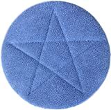 All-Star Microfiber Carpet Bonnets | 21'' Blue - 6 Pack