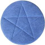 All-Star Microfiber Carpet Bonnets | 17'' Blue - 6 Pack