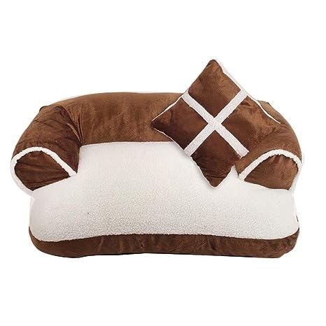 Mochila Cojín para sofá Cama para perros completamente extraíble y lavable Suministros para mascotas Basura para