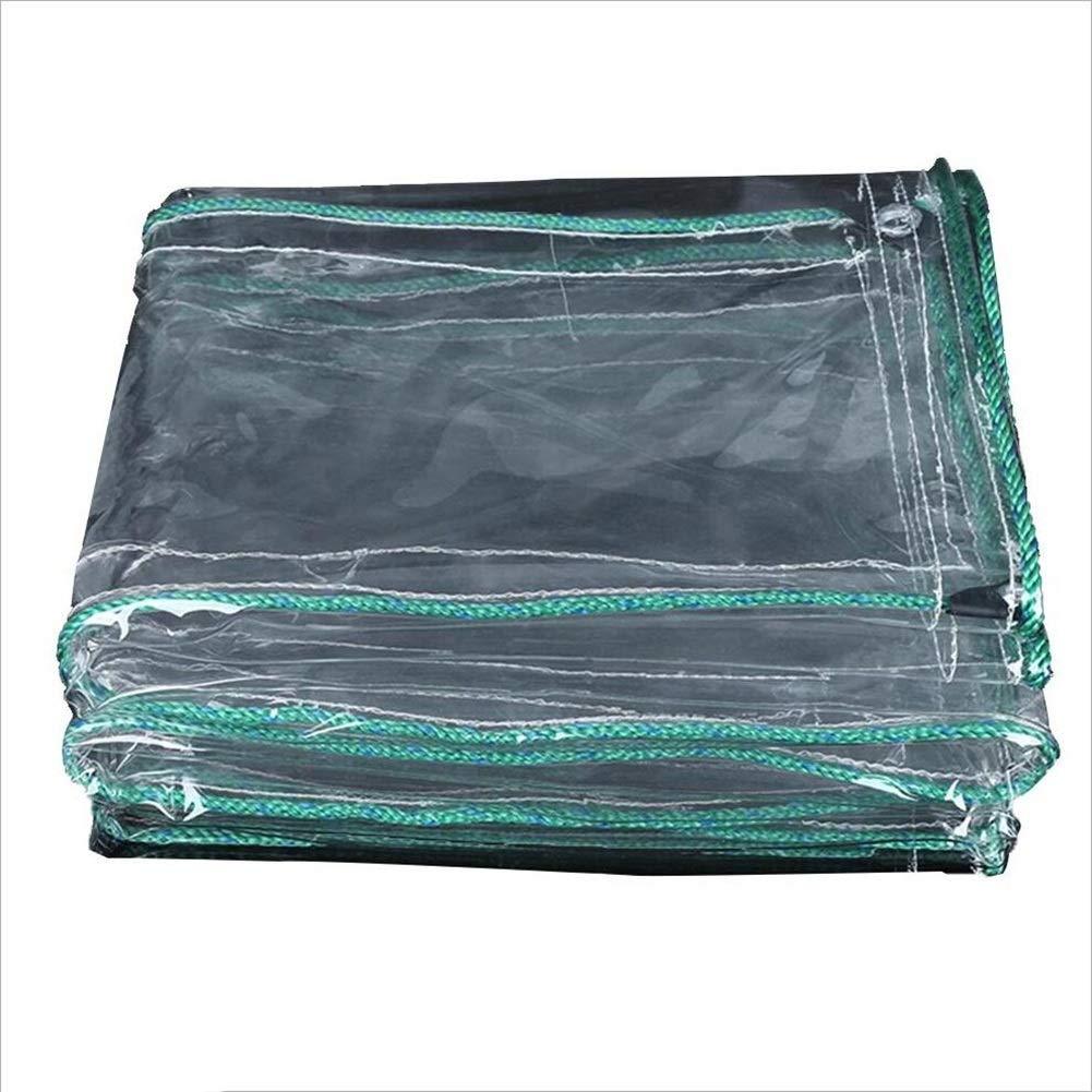 JIANFEI Teloni Impermeabile Pioggia Protezione Insulation Shading Addensare, Misura in 12 Personalizzabile (colore   Pulire, Dimensioni   1.9x1.9m)