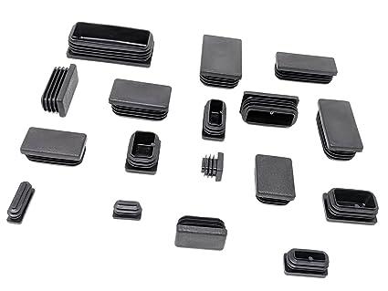 Feltrini Per Sedie Di Metallo : Piedini rettangolari per mobili con feltrini per base gambe