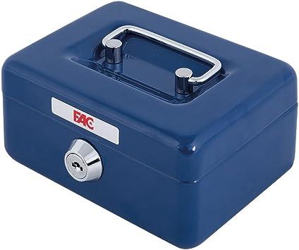 FAC 17014 Caja de caudales, Azul: Amazon.es: Bricolaje y herramientas