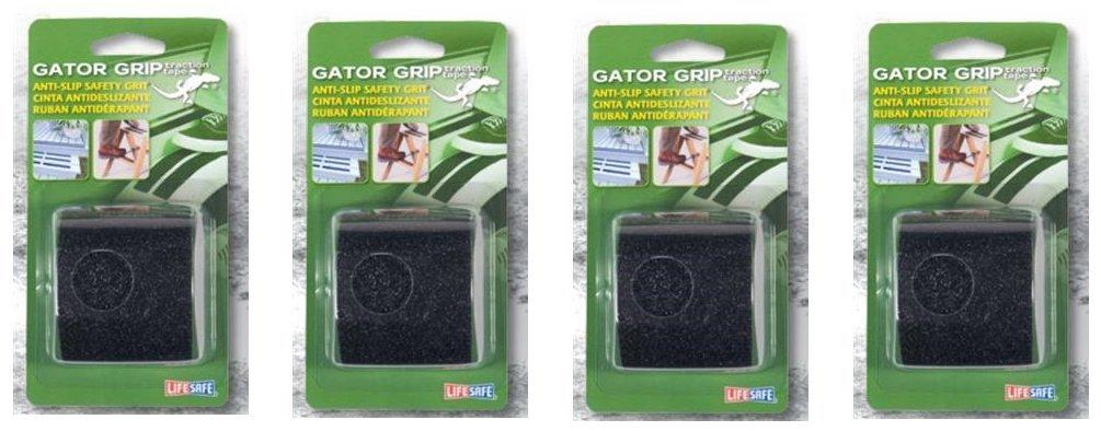 "Incom RE172 2/"" X 5/' Black Gator Grip® Anti Slip Safety Grit Tape"