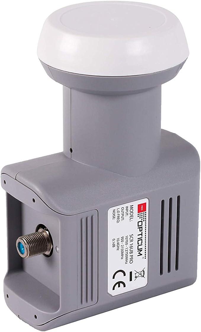 Red Opticum Scr 16ub Pro Lnb Unicable Lnb Für Bis Zu Elektronik