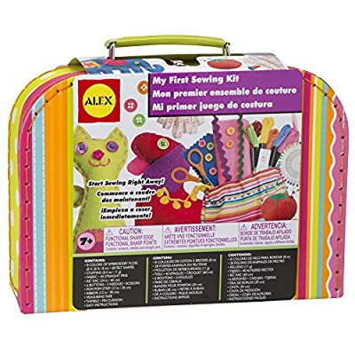 Alex Craft My First Sewing Kit Kids Art and Craft Activity: Toys & Games