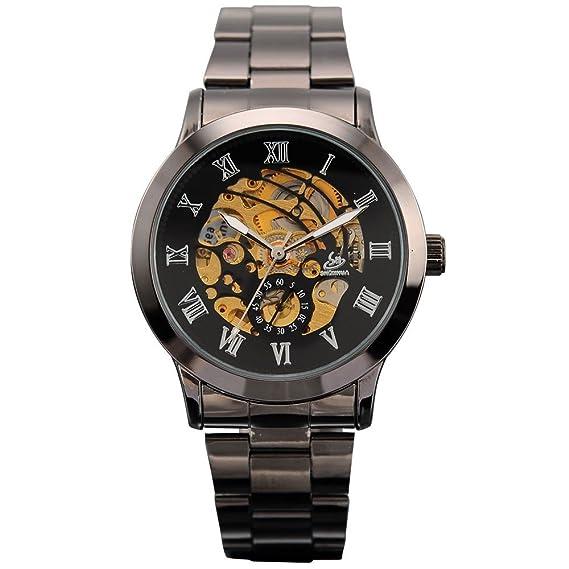 AMPM24 0 PMW019 - Reloj para hombres, correa de metal color gris