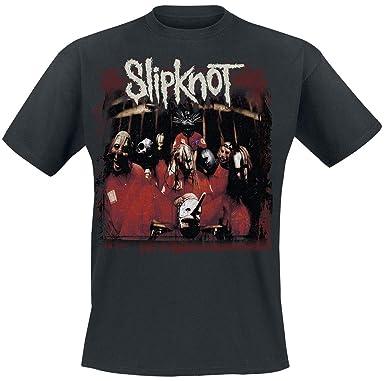 NEW /& OFFICIAL! Slipknot /'Debut Album 19 Years/' Kids T-Shirt Black