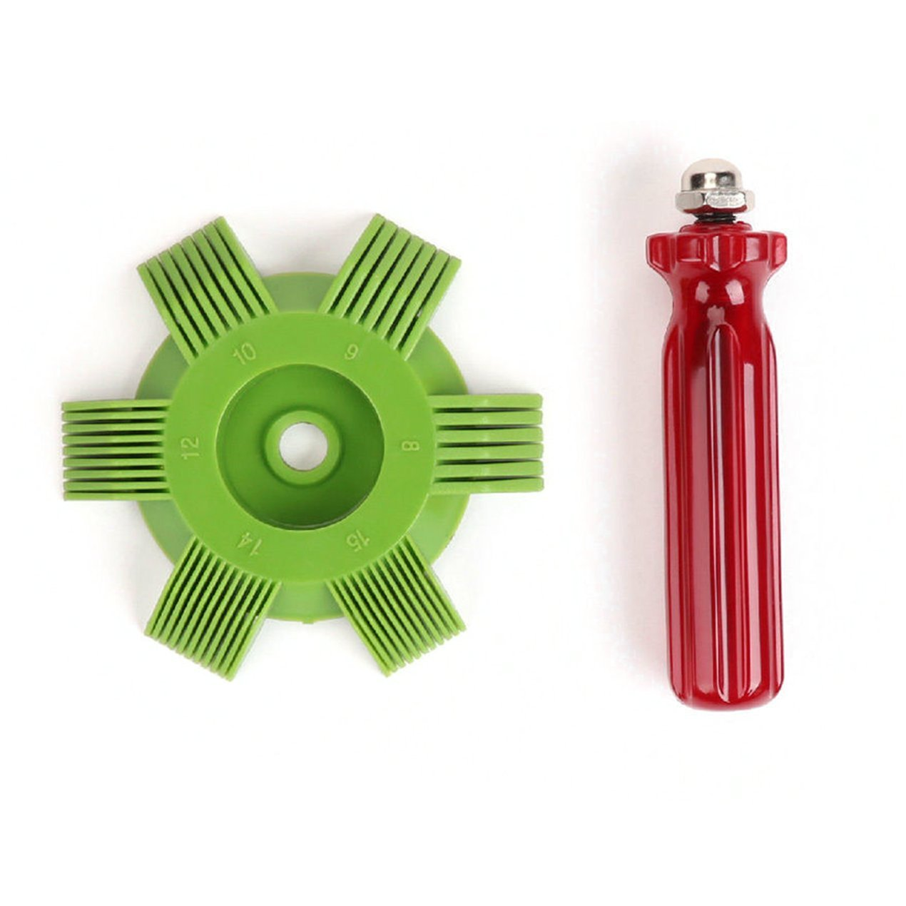 Coche A/C del radiador del condensador, refrigeració n del serpentí n del evaporador peine, para la herramienta de Auto Sistema de refrigeració n refrigeración del serpentín del evaporador peine Dooret