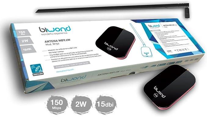 Adaptador Wifi USB 2W Biwond: Amazon.es: Electrónica