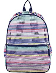 School Backpack This Mesh Cute Rucksack W/ Padded Adjustable Straps