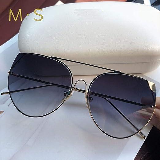 Yangjing-hl Gafas de Sol clásicas Mujer Gafas de Sol de Gran ...
