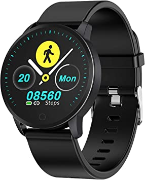 BingoFit Fitness Smart Watch Lightweight,Waterproof Activity Tracker with Heart Rate Monitor Blood Pressure Health Tracker 10 Sport Modes Pedometer ...