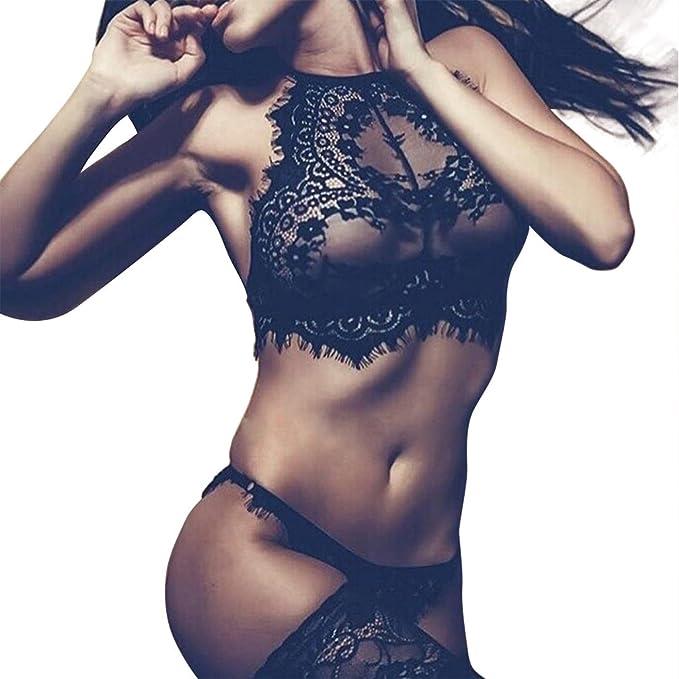 Ropa Interior Lenceria Conjunto Sexy Mujer Camison Erotica Atractivo Ropa De Dormir Transparente: Amazon.es: Ropa y accesorios