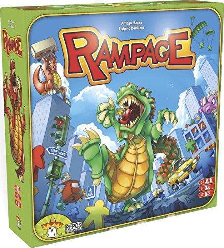 Rampage Board Game (Rampage Board)