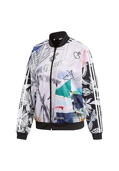 2777f4da31b Adidas Originals CW1381 Chamarra para Mujer de tamaño Grande
