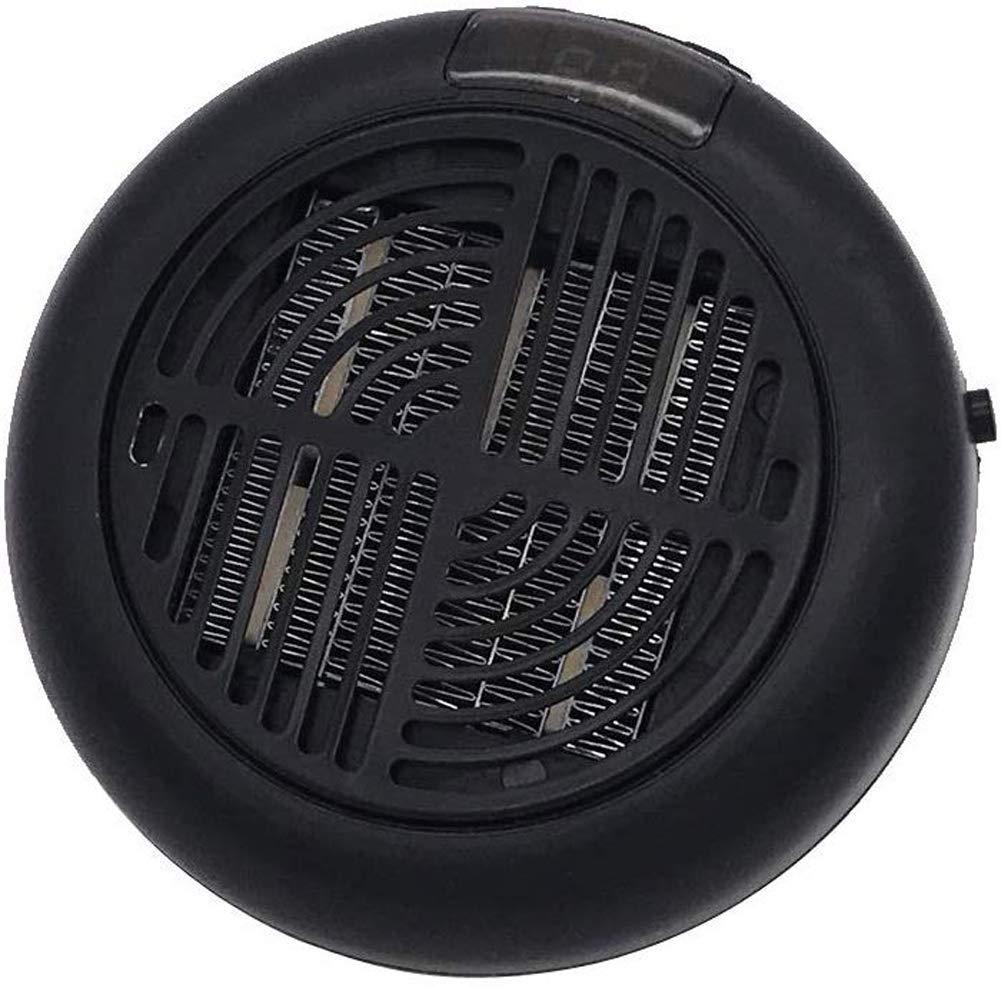 Adaptador Giratorio Calefactor Electrico para Casa Oficina Camper EU Plug Apark Calefactor Port/átil Mini Estufa El/éctrica Instant Heater Termoventilador Bajo Consumo con Termostato Ajustable