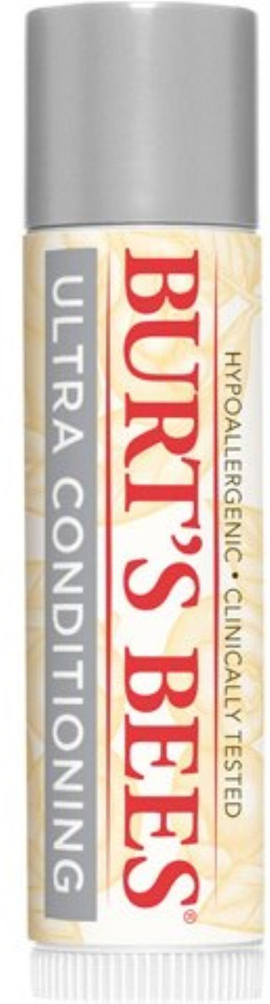 Burt's Bees Lip Balm, Ultra Conditioning with Kokum Butter, 0.15 oz (Pack of 4)