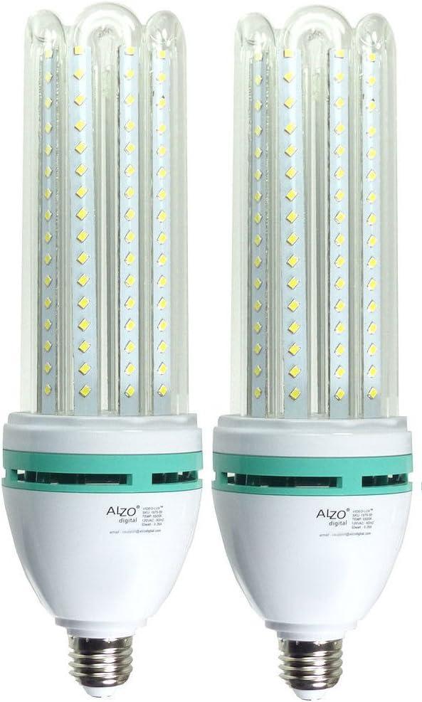 ALZO 200 LED Umbrella Softbox Light 5500K Without Stand