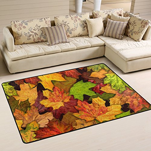 Autumn Leaves Area Rug