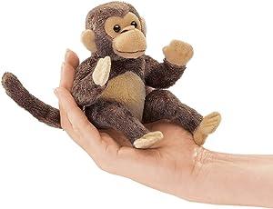 Folkmanis Mini Monkey Finger Puppet