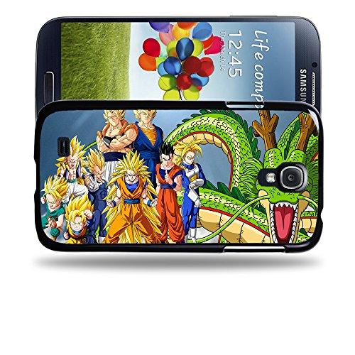 Case88 Designs Dragon Ball Z GT AF Son Goku Super Saiyan Goku Gohan Trunks Vegeta Protective Snap-on Hard Back Case Cover for Samsung Galaxy S4