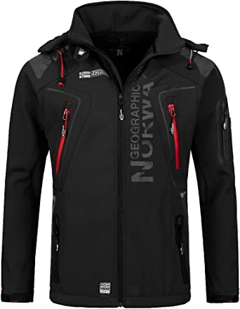 Geographical Norway Tambour - Chaqueta Softshell para Hombre ...