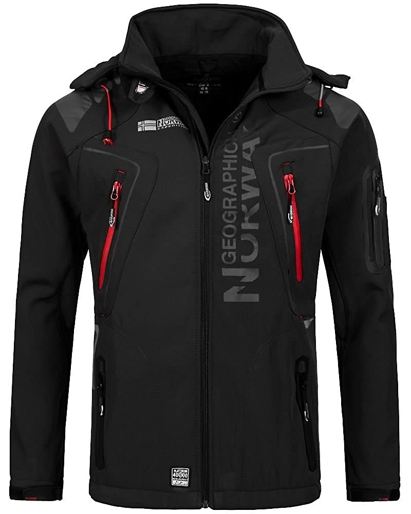 Geographical Norway Herren Softshell Funktions Outdoor Jacke ...