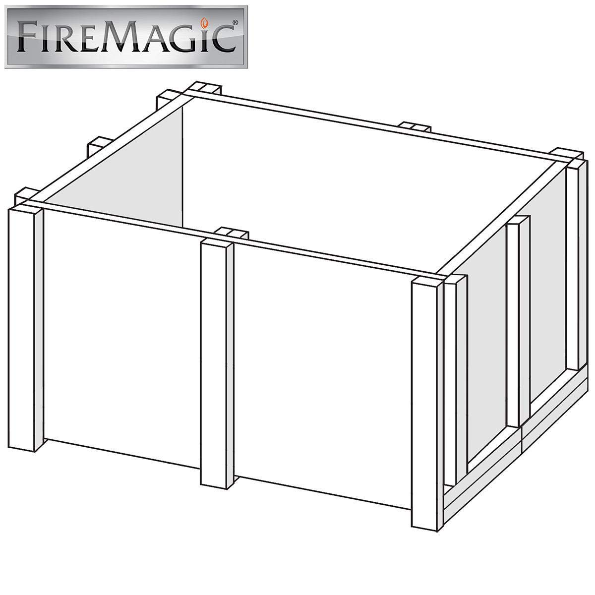 Fire Magic Insulated Jacket For Deluxe Classic Countertop Grills