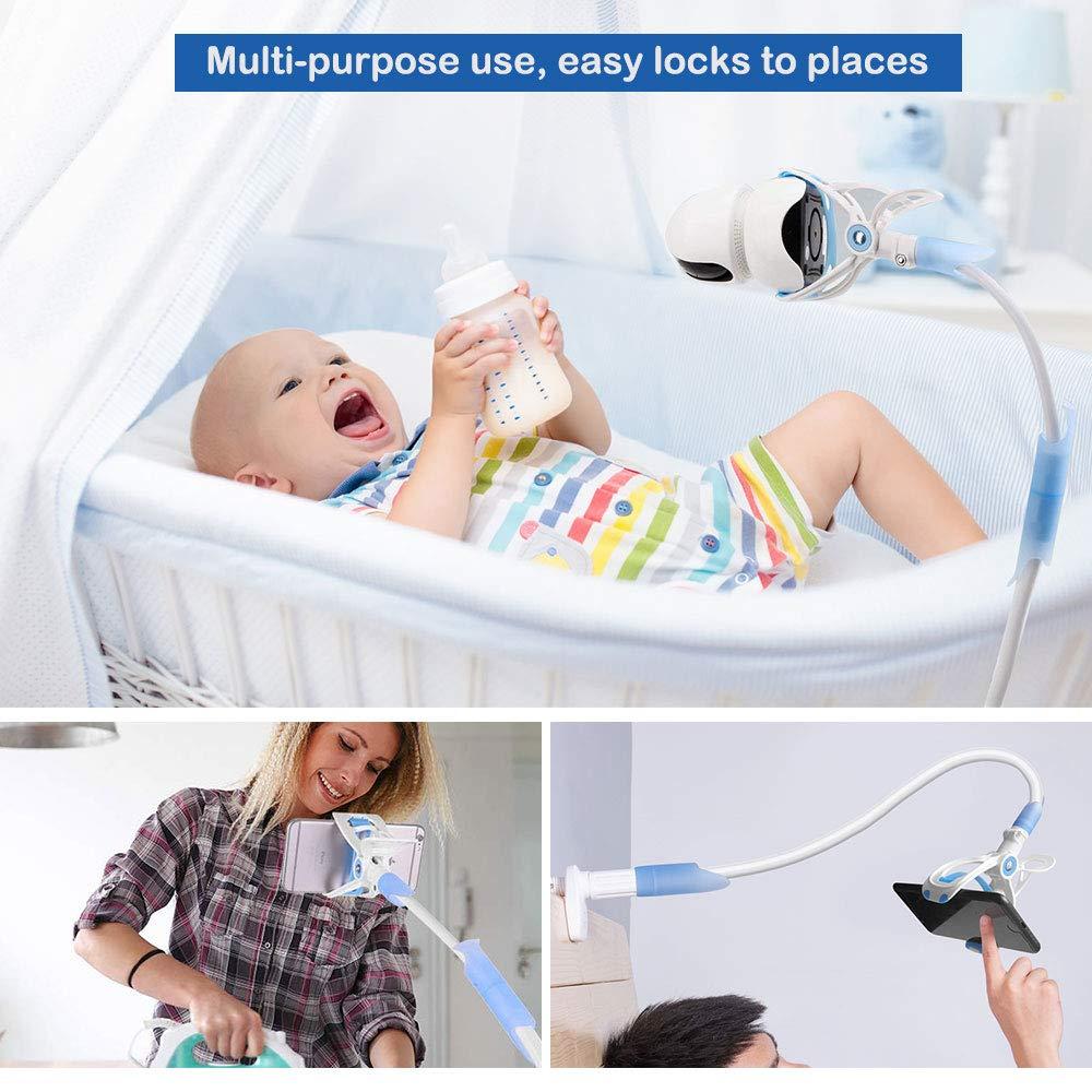 Flexible Kamera St/änder Babyphone Halterung Kompatibel Kamera St/änder f/ür Kinderzimmer Baby Kamera Halterung LATTCURE Handyhalter Universal Baby Monitor Halter