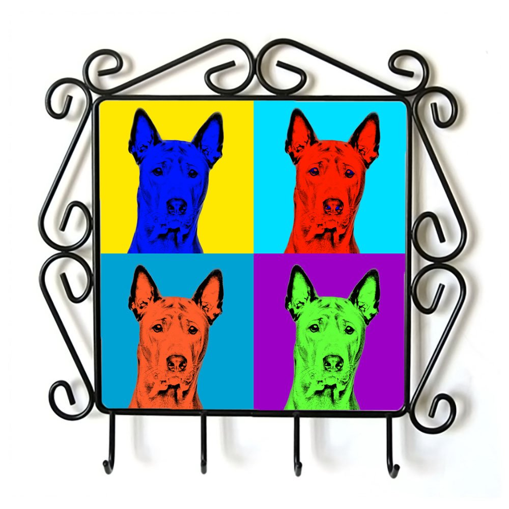 Thai Ridgeback, clothes hanger with an image of a dog, Andy Warhol Style by Art Dog Ltd.