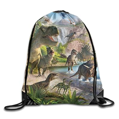 Animal Party Men Women Gym Drawstring Backpack Bag Sackpacks Casual Daypack For Workout Outdoor Travel