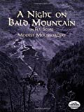 img - for A Night on Bald Mountain in Full Score (Dover Music Scores) book / textbook / text book