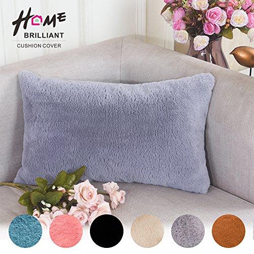 Deluxe Sheepskin Regtangular Cushion Brilliant