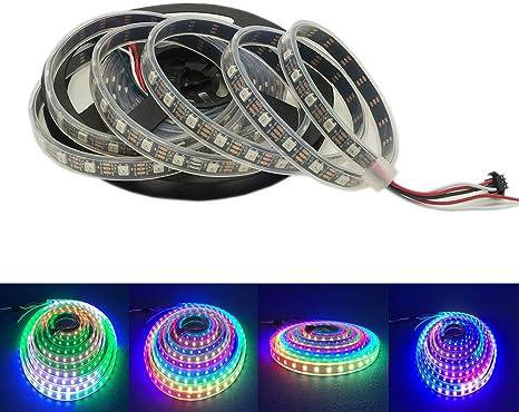 Amazon.com: Tira de luces LED HKBAYI 4M 5V 60 luces por ...